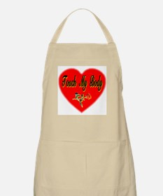 Touch My Body BBQ Apron