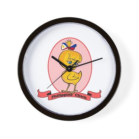 Philippine Chick Wall Clock