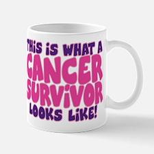 CANCER SURVIVOR (PINK) Mug