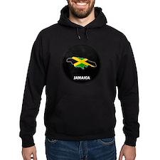 Flag Map of Jamaica Hoodie
