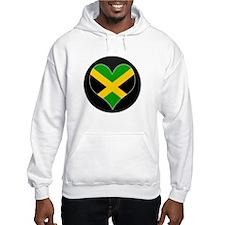 I love Jamaica Flag Hoodie