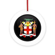 Coat of Arms of Jamaica Ornament (Round)
