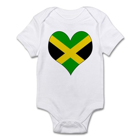 I Love Jamaica Infant Bodysuit