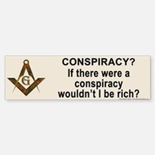 Rich Masonic Bumper Bumper Bumper Sticker