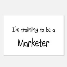 I'm training to be a Marketer Postcards (Package o