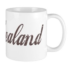 Vintage New Zealand Small Mug