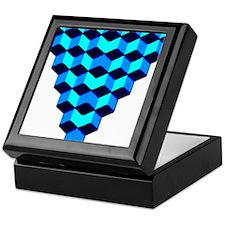 Stacked Cubes Keepsake Box