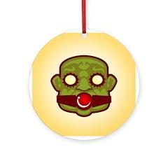 Green Gimp Ornament (Round)