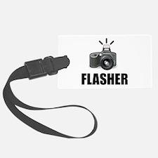 Flasher Camera Photographer Luggage Tag