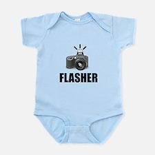 Flasher Camera Photographer Body Suit