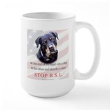Rottweiler Politcal Mug