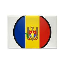 Moldova Rectangle Magnet
