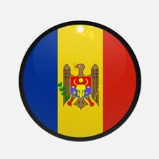 Moldova Ornament (Round)