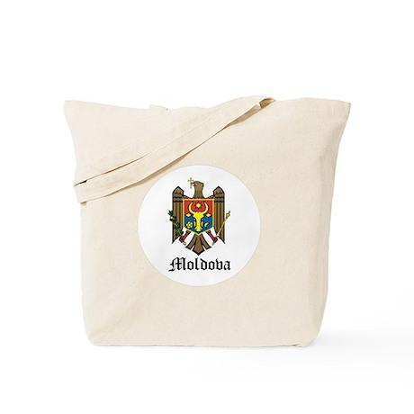 Moldovan Coat of Arms Seal Tote Bag