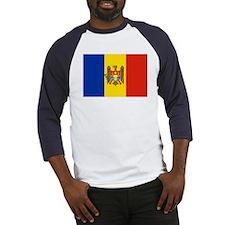 Moldova Flag Baseball Jersey