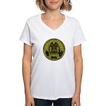 Riverton Police Women's V-Neck T-Shirt