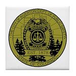 Riverton Police Tile Coaster