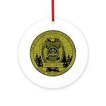 Riverton Police Ornament (Round)