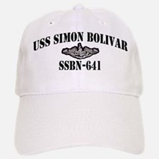 USS SIMON BOLIVAR Baseball Baseball Cap