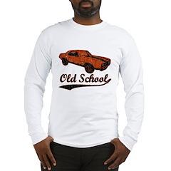 red Old School script Long Sleeve T-Shirt