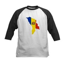 Moldova Flag Map Tee