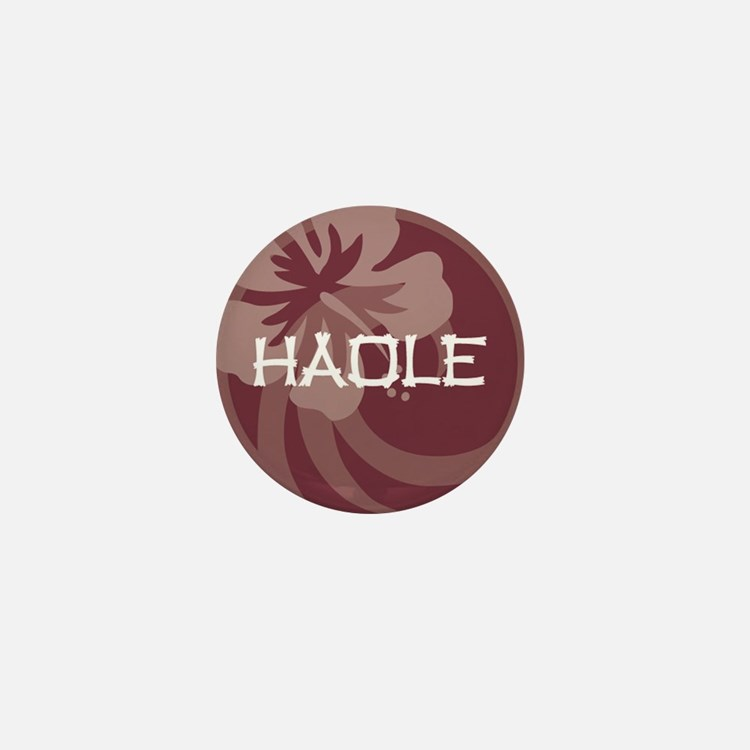 Haole Mini Button