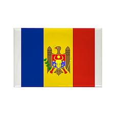 Moldovan Rectangle Magnet