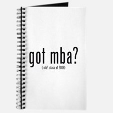got mba? (i do! class of 2009) Journal