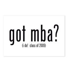 got mba? (i do! class of 2009) Postcards (Package