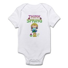 Think Spring Red Head Infant Bodysuit