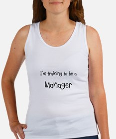 I'm training to be a Manager Women's Tank Top