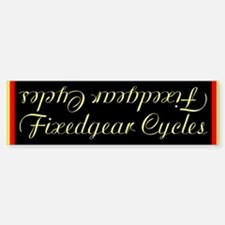Single speed cycles Sticker (downtube)
