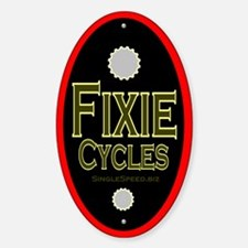 """Single speed cycles 5"""" headtube Decal"""