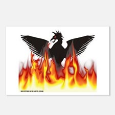 Cute Firebird Postcards (Package of 8)