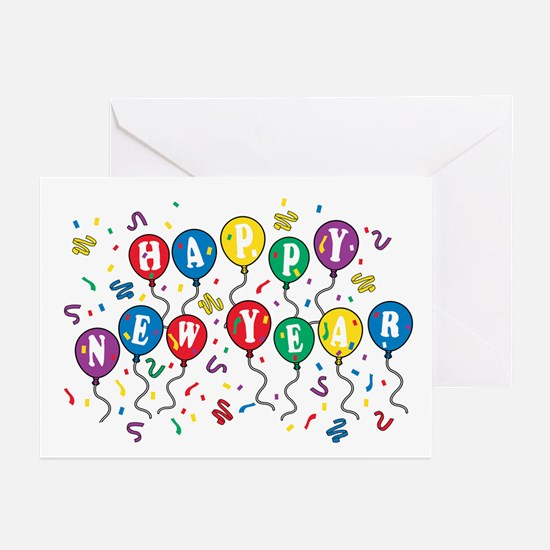 Happy New Year Greeting Cards (Pk of 10)