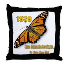 Rhoer Club Throw Pillow