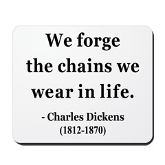 Charles Dickens 11 Mousepad