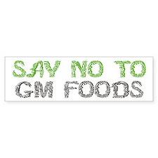 GMO Bumper Bumper Sticker