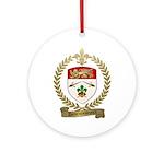 DESRUISSEAUX Family Crest Ornament (Round)