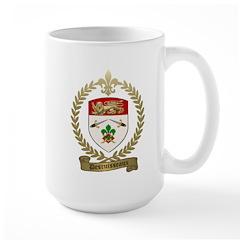 DESRUISSEAUX Family Crest Large Mug