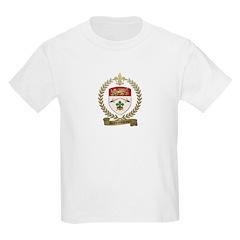 DESRUISSEAUX Family Crest Kids Light T-Shirt