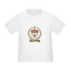 DESRUISSEAUX Family Crest T