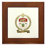 DESRUISSEAUX Family Crest Framed Tile