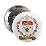 """DESRUISSEAUX Family Crest 2.25"""" Button (100 p"""