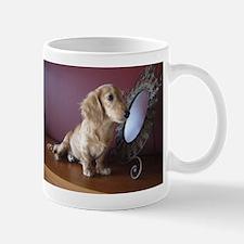 Cream Doxie Mug
