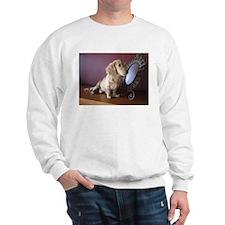 Cream Doxie Sweatshirt