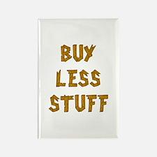 Buy Less Rectangle Magnet