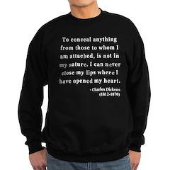 Charles Dickens 12 Sweatshirt