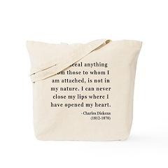 Charles Dickens 12 Tote Bag