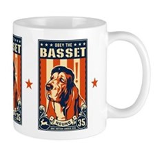Obey the Basset Hound! Patriotism Mug